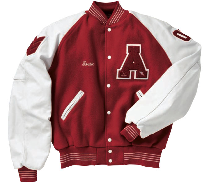 ... but i am declaring the varsity jacket aka the letterman jacket aka i